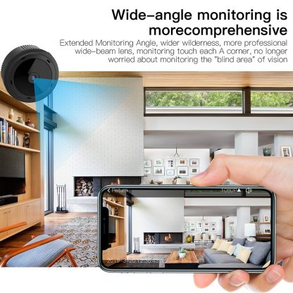 1080P HD Mini Camera WiFi Wireless Security Protection Camera Remote Monitoring Motion Detection Dark Night Vision 4