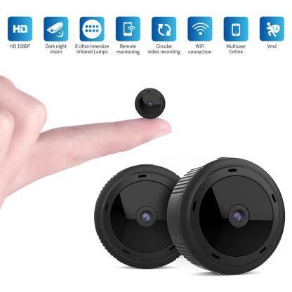 1080P HD Mini Camera WiFi Wireless Security Protection Camera Remote Monitoring Motion Detection Dark Night Vision
