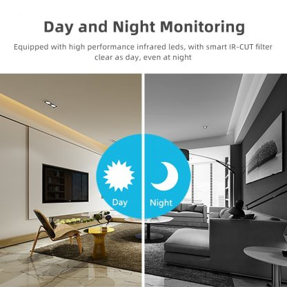 1080P Wireless Mini WiFi Camera IP Home Security camera IR Night Vision Motion Detect Baby Monitor 1