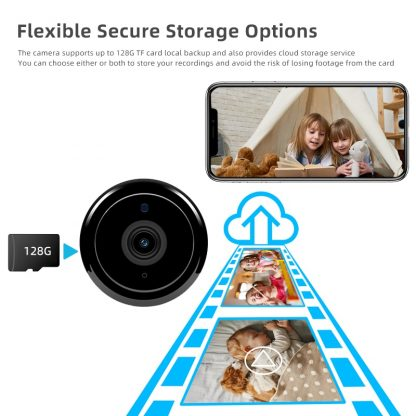1080P Wireless Mini WiFi Camera IP Home Security camera IR Night Vision Motion Detect Baby Monitor 4