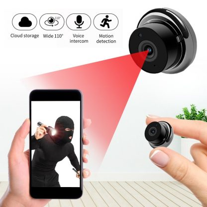 1080P Wireless Mini WiFi Camera IP Home Security camera IR Night Vision Motion Detect Baby Monitor