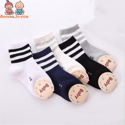 10pcs 5 pairs lot Spring and autumn Children socks Boys and girls 1 10 year Cotton 1