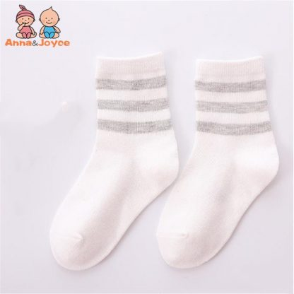 10pcs 5 pairs lot Spring and autumn Children socks Boys and girls 1 10 year Cotton 3
