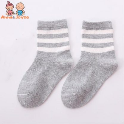 10pcs 5 pairs lot Spring and autumn Children socks Boys and girls 1 10 year Cotton 4