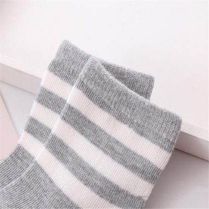 10pcs 5 pairs lot Spring and autumn Children socks Boys and girls 1 10 year Cotton 5