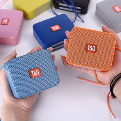 2020 New Mini Portable Bluetooth Speaker Small Wireless Music Column Subwoofer USB Speakers for Phones with 5