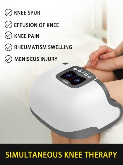 4D Double Knee Massager Infrared Heating Massage High Frequency Vibration Magnetic Effect Knee Therapy Instrument 1