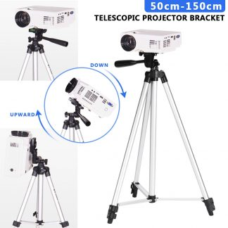 50cm 150cm adjustable 360 rotate projector tripod stand bracket DVD Player floor holder laptop stand speaker