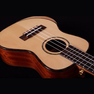 Alston 23inch Solid Spruce ukulele concert with bag Solid Mahogany ukelele musical instruments 4 string guitar