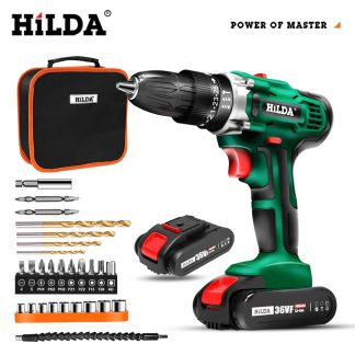 Cordless Drill Electric Screwdriver Mini Wireless Power Driver DC Lithium Ion Battery 3 8 Inch power