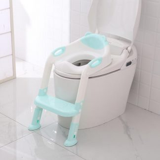 Folding Baby Potty Infant Kids Toilet Training Seat with Adjustable Ladder Portable Urinal Potty Training Seats