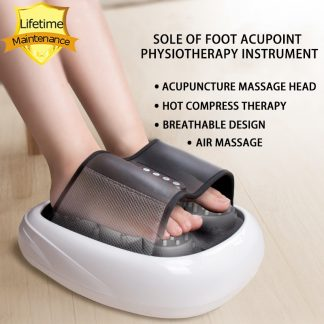 Half Wrapped Foot Massage Air Pressure Hot Red Light Physical Therapy