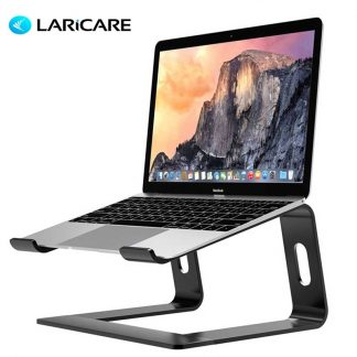 LARICAR Laptop Stand Holder Aluminum Stand For MacBook Portable Laptop Stand Holder Desktop Holder Notebook PC