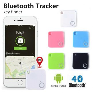 Mini Smart Bluetooth 4 0 GPS Tracker Device Car Motor Alarm Tile Wallet Key Bag Locator
