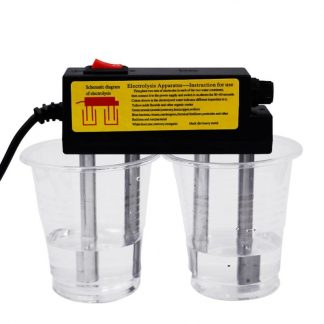 Protable Household Water Quality Electrolyser Test Electrolysis Iron Bars Water Tester Electrolyzer Quick Water Quality
