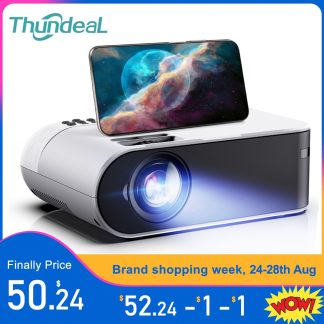 ThundeaL TD60 Mini Projector Portable WiFi Android 6 0 Home Cinema for 1080P Video Proyector 2400