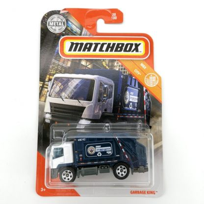 2020 Matchbox Car 1 64 Sports car GARBAGE KING Metal Material Body Race Car Collection Alloy