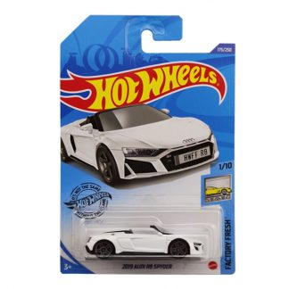 Hotwheels Hot little sports car Audi Convertible 2019 AUDI R8 SPYDER Alloy car Toys for Childen