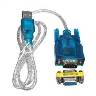 USB to RS232 Serial Port 9 Pin DB9 Cable Serial COM Port Adapter Convertor With Female