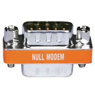 DB9 M M Null Modem Mini Type Low Profile